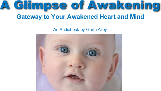 A glimpse of awakening and baby's face